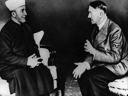 Mufti Al Husseini og Hitler