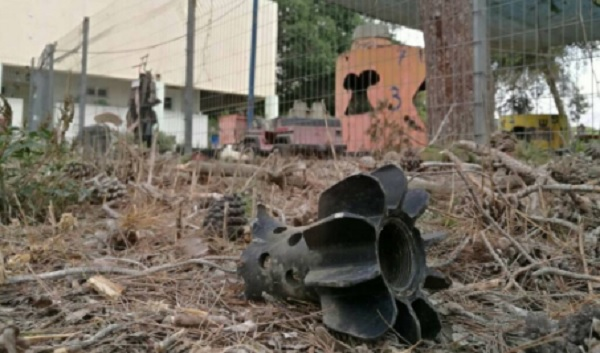 Racket affyret fra Gazastriben og landet ved en børnehave i Sydisrael