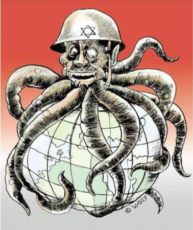 """Nazi propaganda? Nej """" 'palæstinensisk' information""""..."""