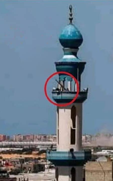 For de, der er skandaliseret når Israel skyder på en moske... Her er forklaringen. Hvem vanhelliger sine egne mosker?